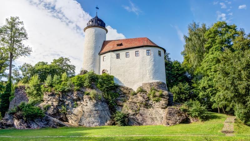 Hrad Rabenstein - nejmenší hrad Saska