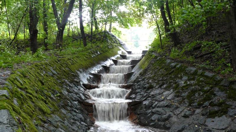 Vodní nádrž Janov - Křižatky přepad | Krušnohorci