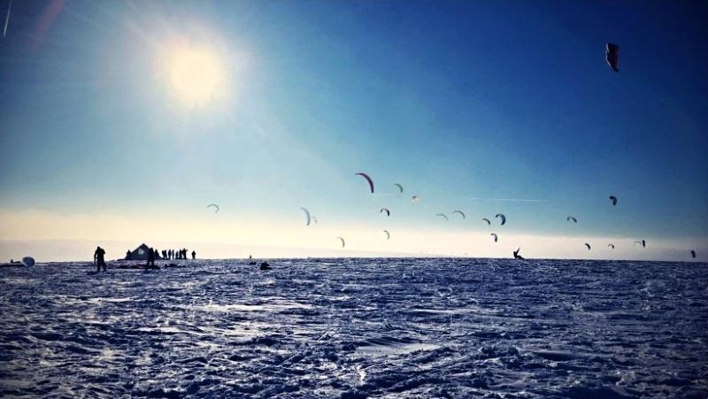 Moldava snowkite spot