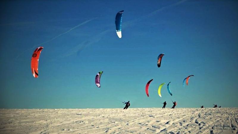 Moldava snowkite spot | -