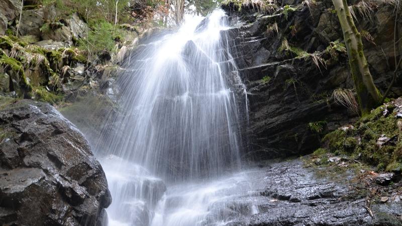 Kýšovický vodopád - nejvyšší vodopád Krušných hor