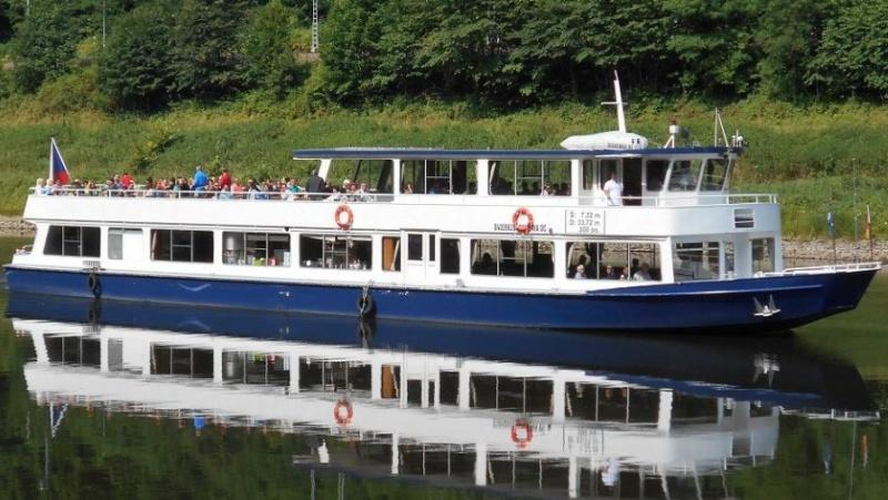 Výlet lodí z Ústí nad Labem do Hřenska