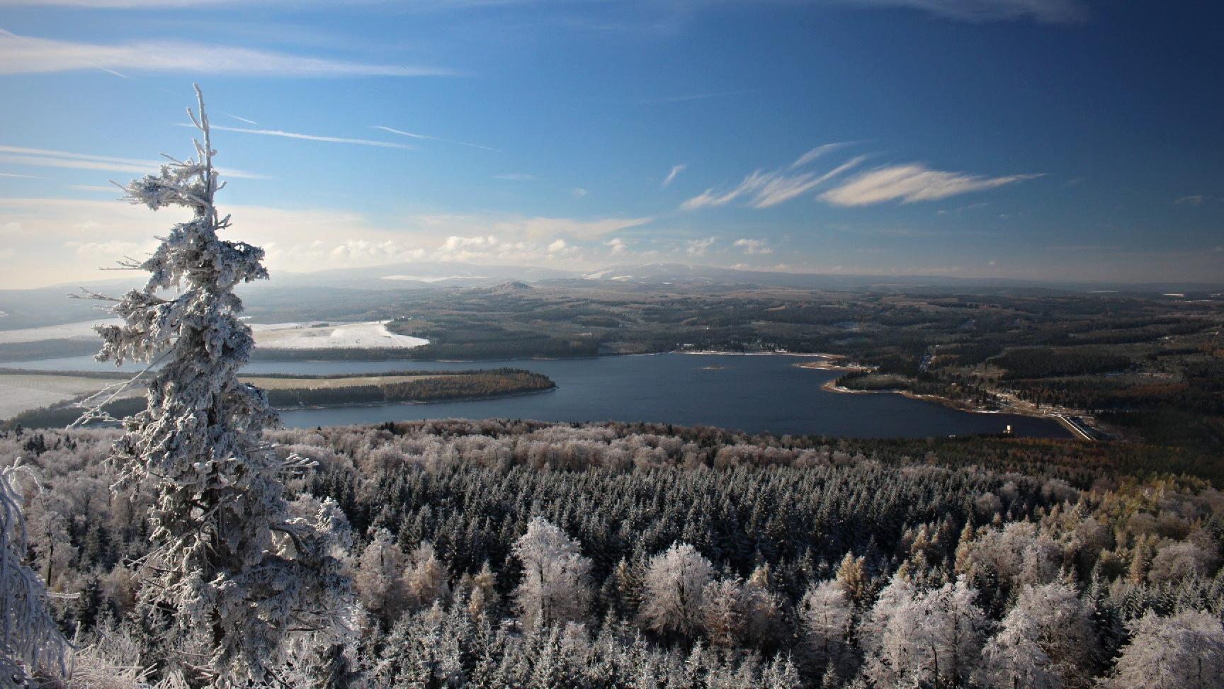 Jelení hora, výhled směr Přísečnice | karloss.net