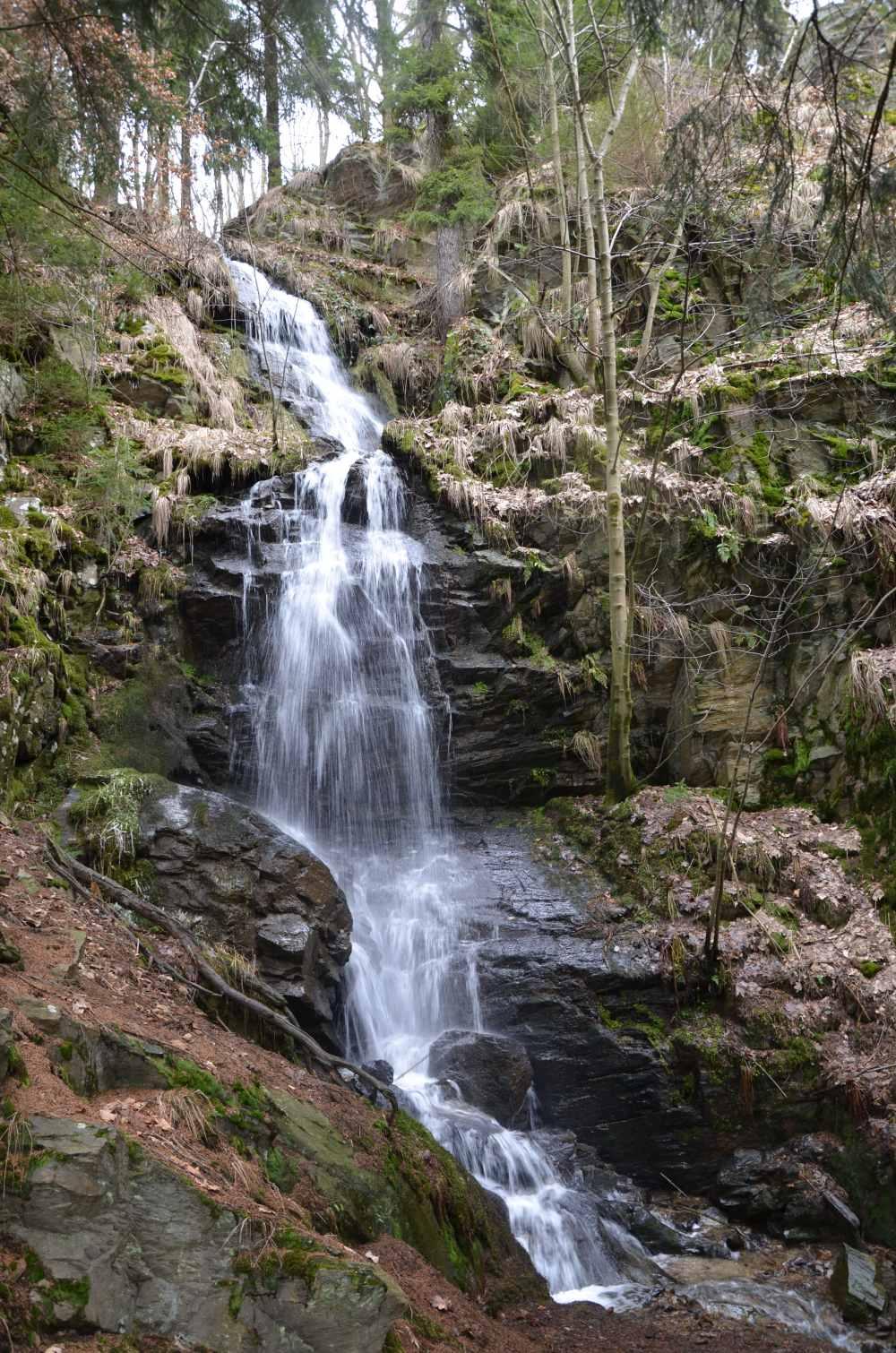 Kýšovický vodopád | Krušnohorci