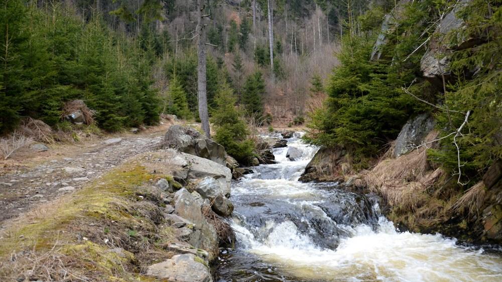 Cestou k vodopádu | Krušnohorci