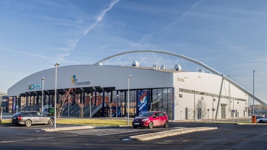 SD Aréna - domov hokejového klubu Piráti Chomutov | Město Chomutov