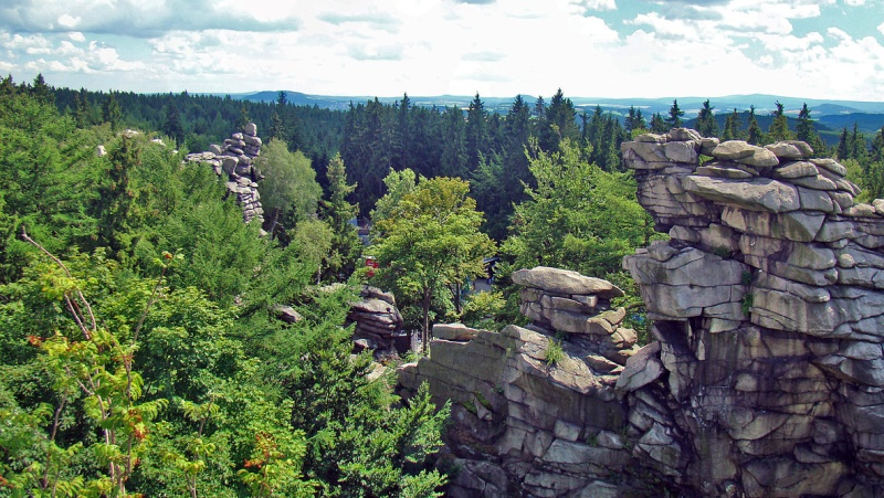Greifensteine Felsen