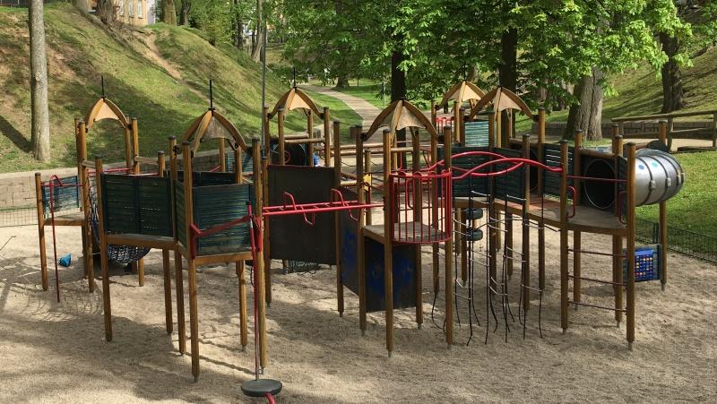 Dětské hřiště horní, Krajinka Cheb | Krušnohorci