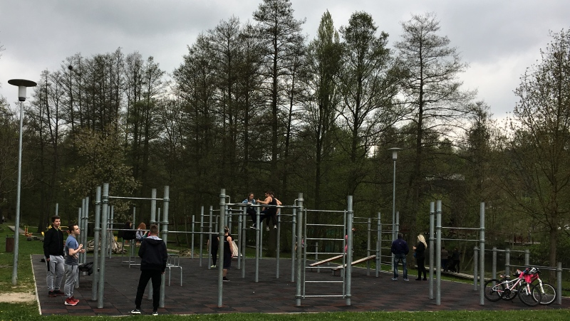 Workoutové hřiště, Krajinka Cheb | Krušnohorci