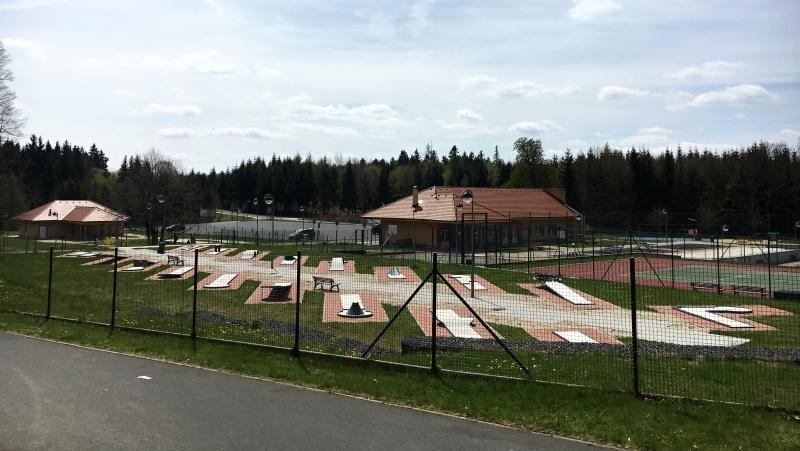 Sportovní areál na vrchu Háj