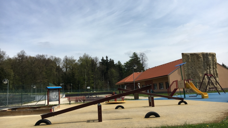 Sportovní areál na vrchu Háj | Krušnohorci