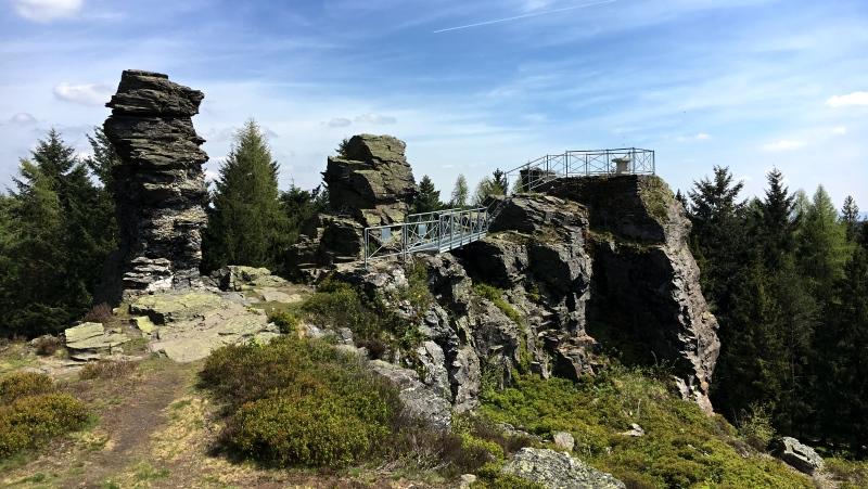 Vysoký kámen | Krušnohorci