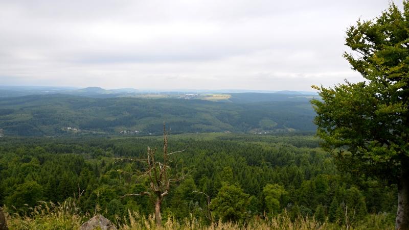 Výhled směr Jöhstadt | Krušnohorci