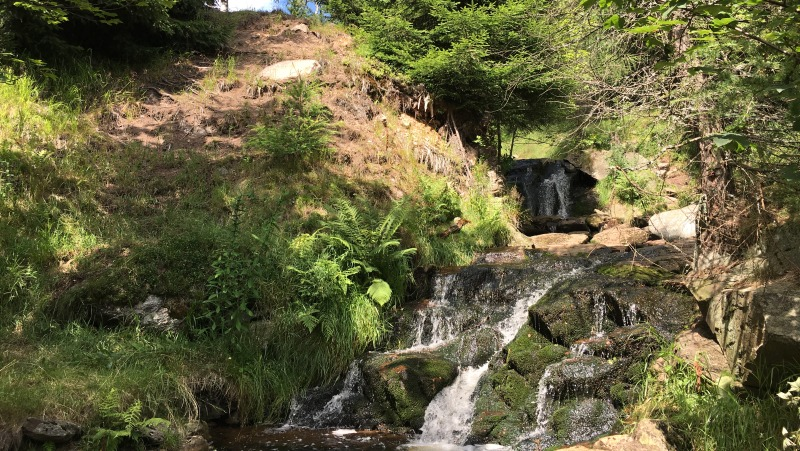 Helenčin vodopád, rok 2017 | Krušnohorci
