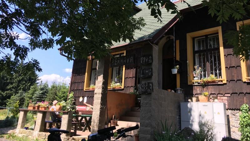 Chata Bernava - vrcholová občerstvovna a ubytovna
