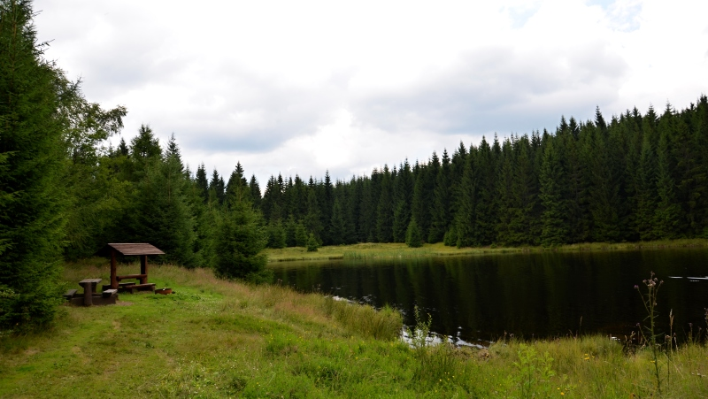 Červený rybník | Krušnohorci