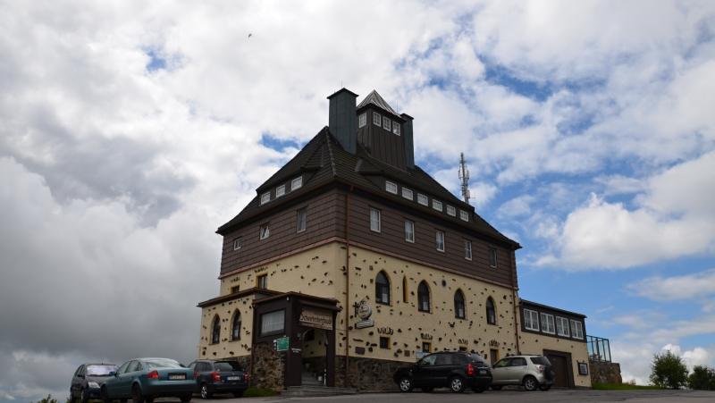 Horská chata Schwartenbergbaude | Krušnohorci