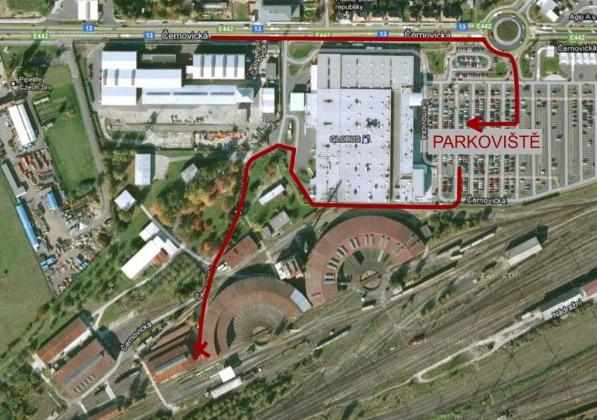 Otevřený železniční depozitář Národního technického muzea v Chomutově | Krušnohorci