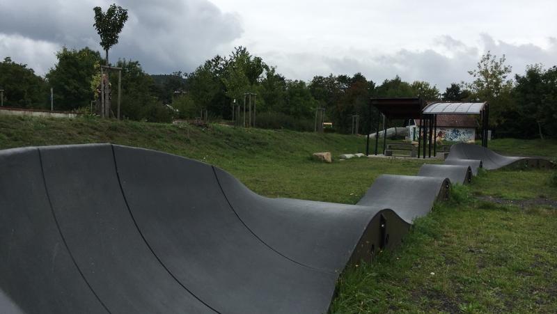 Olejomlýnský park - pumptrack | Krušnohorci