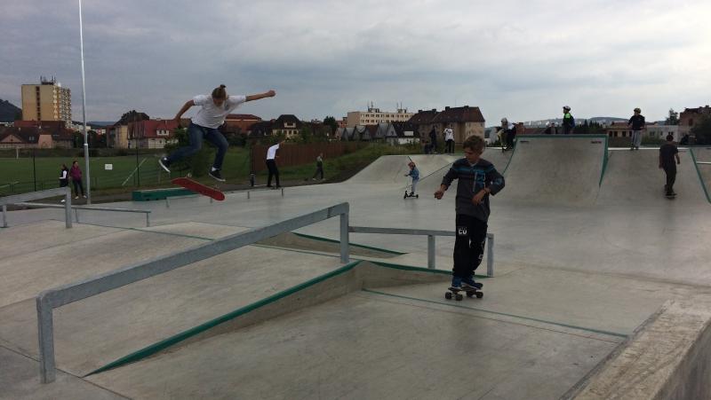 Skatepark Teplice Anger   Krušnohorci