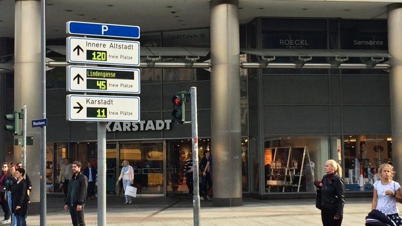 Parkování v Drážďanech | Krušnohorci