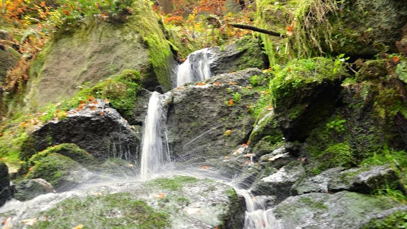 Blauenthaller Wasserfall | Krušnohorci
