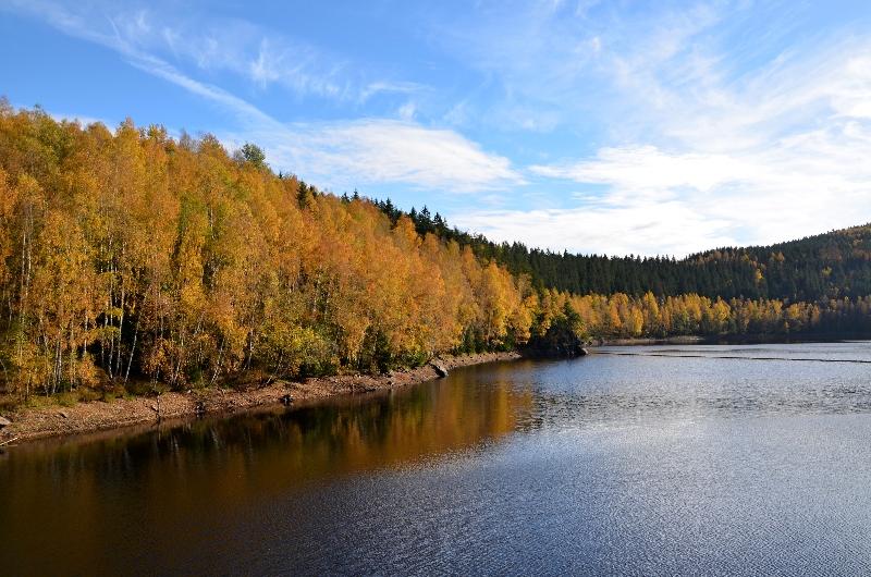 Naučná stezka o vodě u přehrady Eibenstock | Krušnohorci
