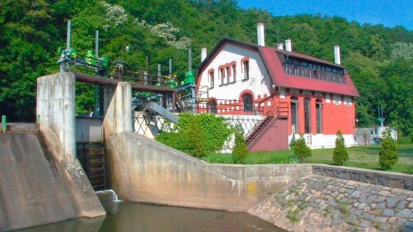 Malá vodní elektrárna Želina