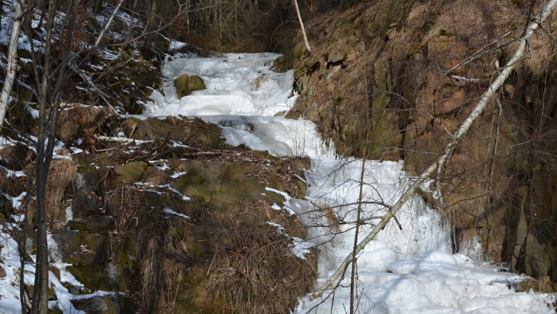 Vodopád Tiefenbach | Krušnohorci