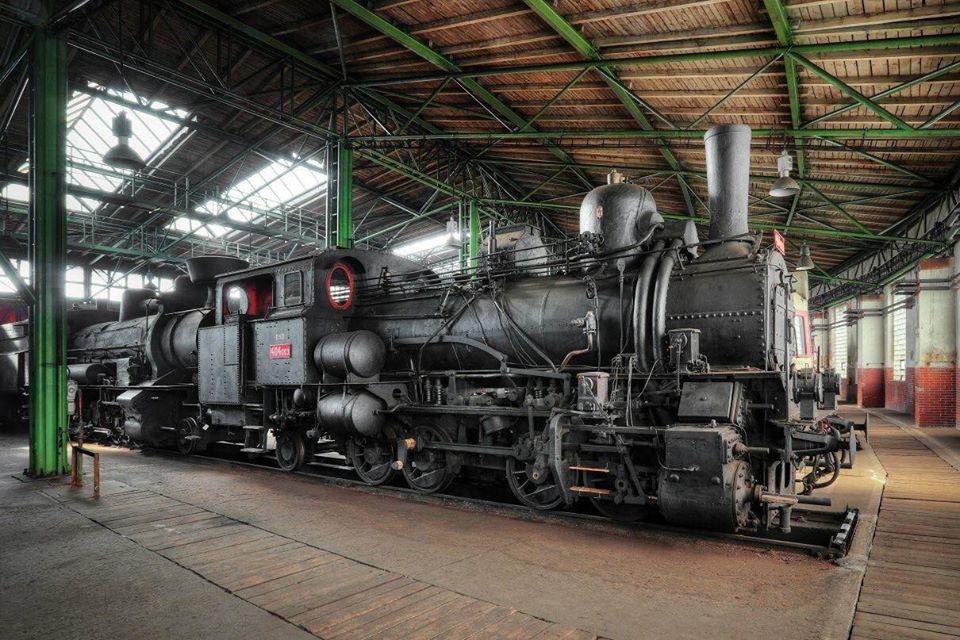 Železniční depozitář Národního technického muzea v Chomutově |