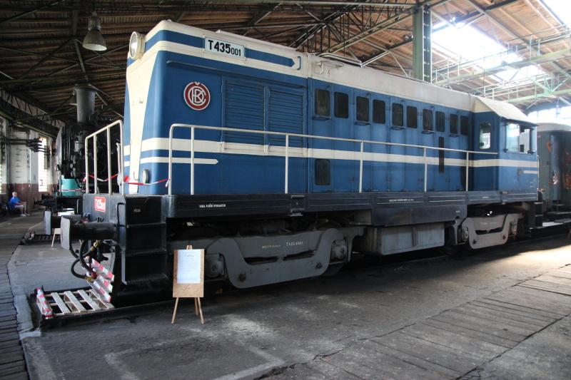 T435   Národní technické muzeum, depo Chomutov
