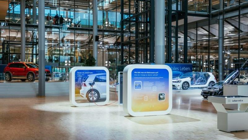 Skleněná manufaktura Volkswagen | Vilkswagen, O. Killig
