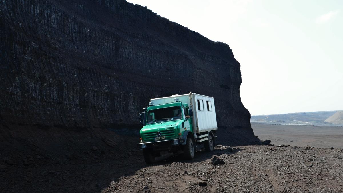 Exkurze v hnědouhelném lomu ČSA - Uhlí | Krušnohorci