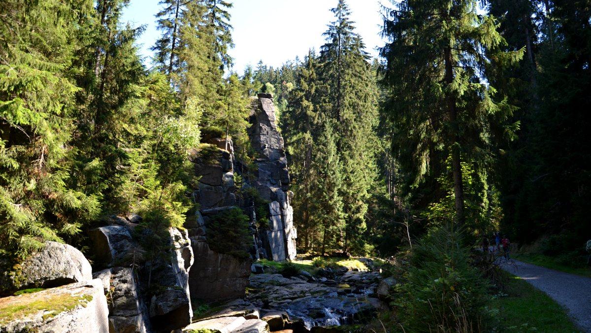 Spodní část údolí Schwarzwassertal | Krušnohorci