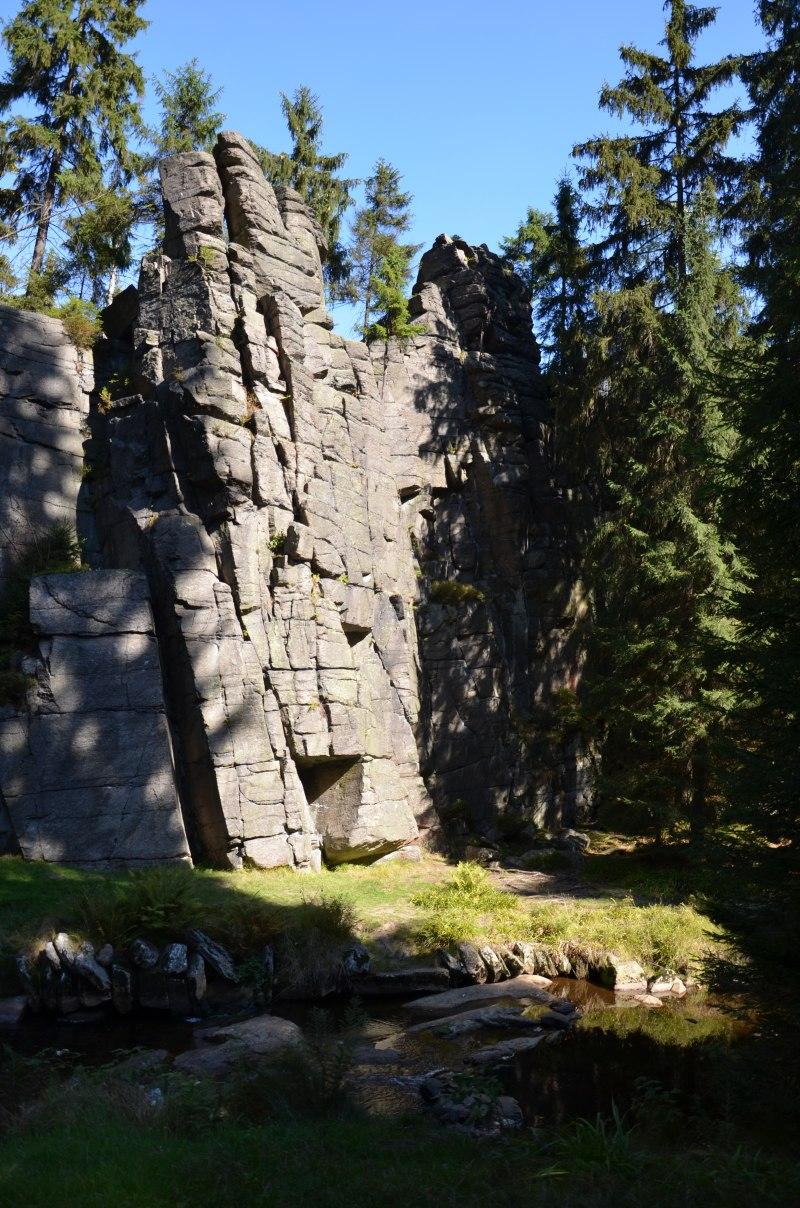 údolí Schwarzwassertal | Krušnohorci