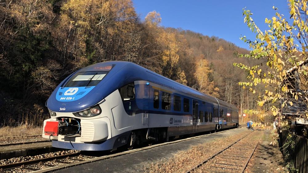 Vlaky na Moldavu už zase jezdí
