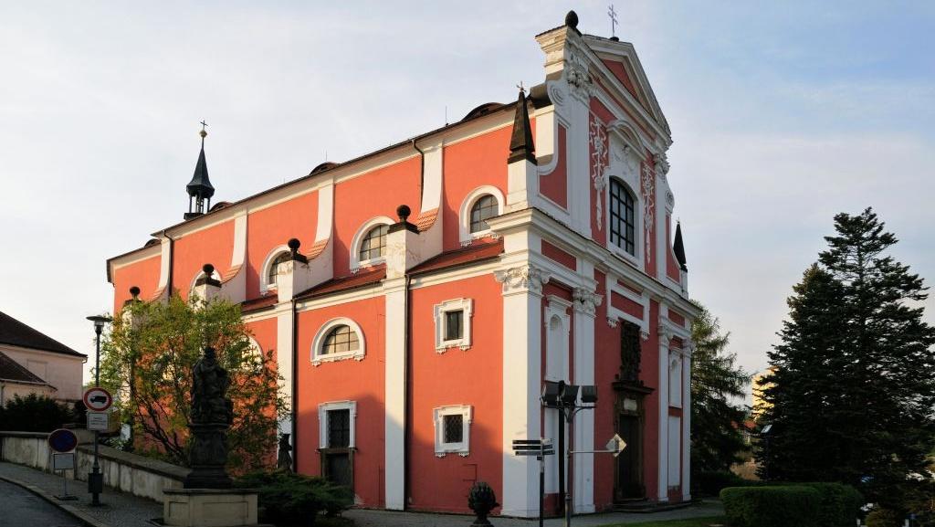Barokní kostel Nejsvětější Trojice