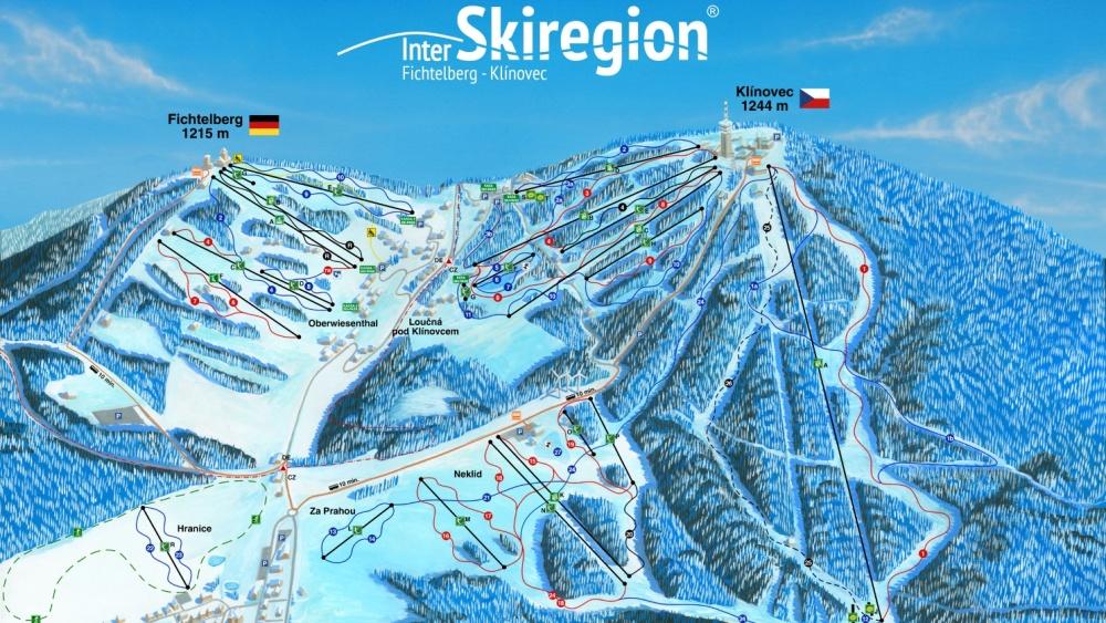 Skiareál Klínovec se rozšířil o Ski Neklid  |  Skiareál Klínovec