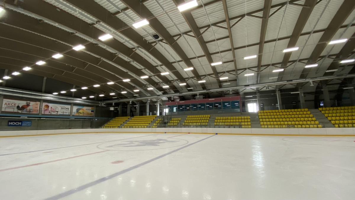 Teplice otevírají nový zimní stadion ZIMÁK
