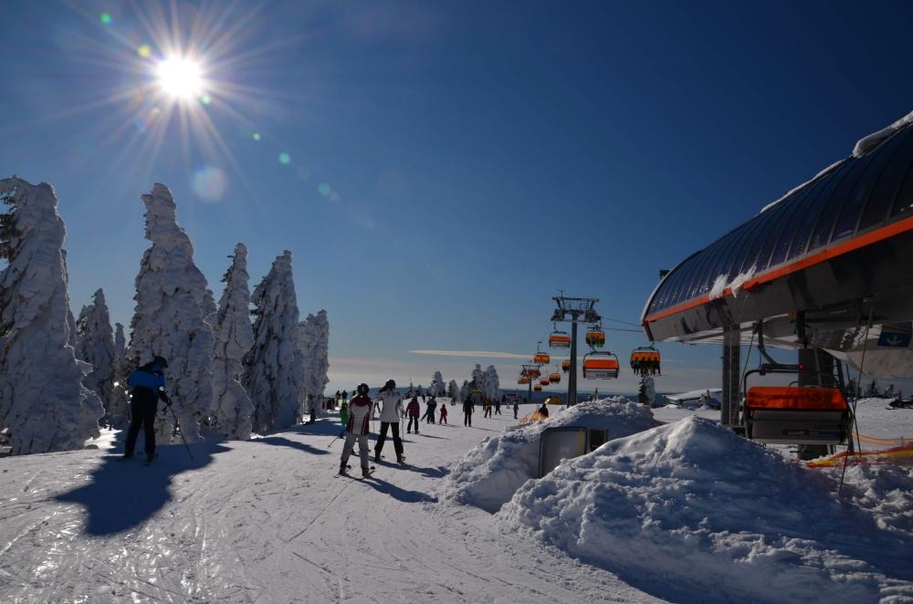 Skiareál Klínovec | Krušnohorci