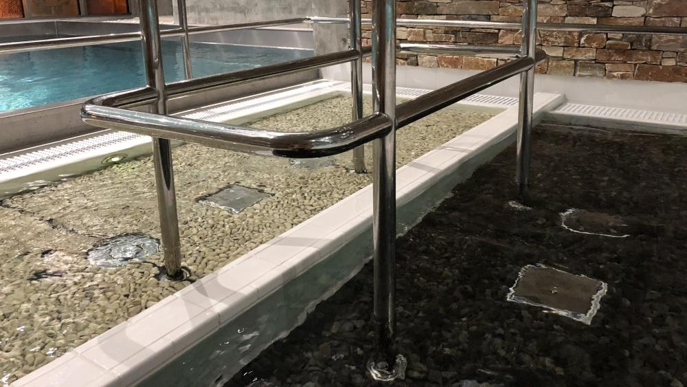 Teplické Thermalium - kneippův chodník | Krušnohorci