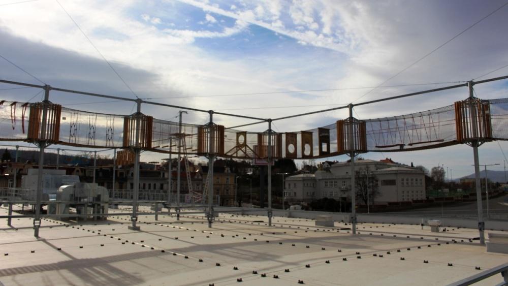 Teplický lanový park brzo otevírá | Krušnohorci