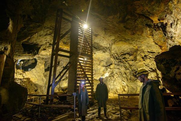 500 let důlní historie za 2 hodiny - štola Johannes | Krušnohorci