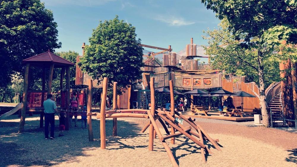 Lanové centrum Funpark s rozhlednou | Krušnohorci