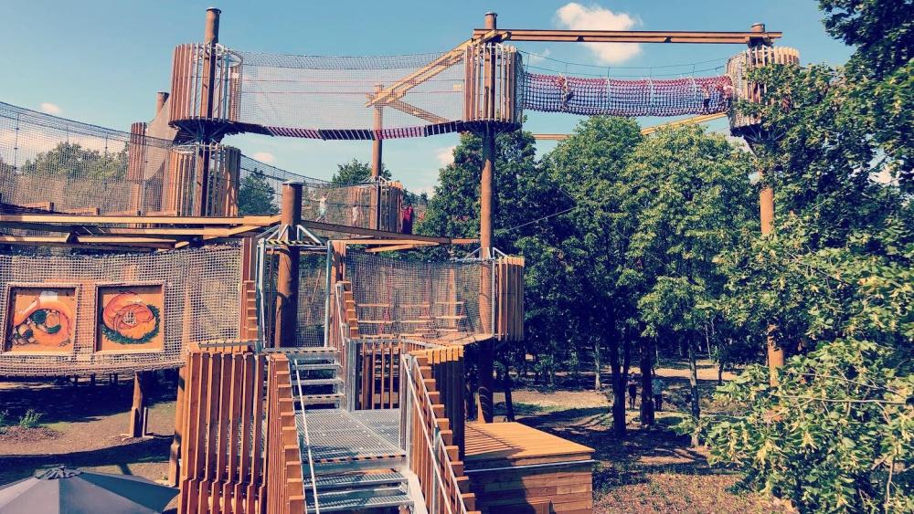 Lanové centrum Funpark | Krušnohorci