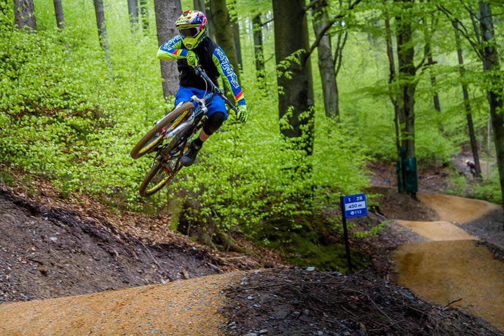 Bikewelt Schöneck kousek za hranicemi, kde se naučíte skákat