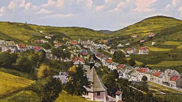 Montane Kulturlandschaft Jáchymov