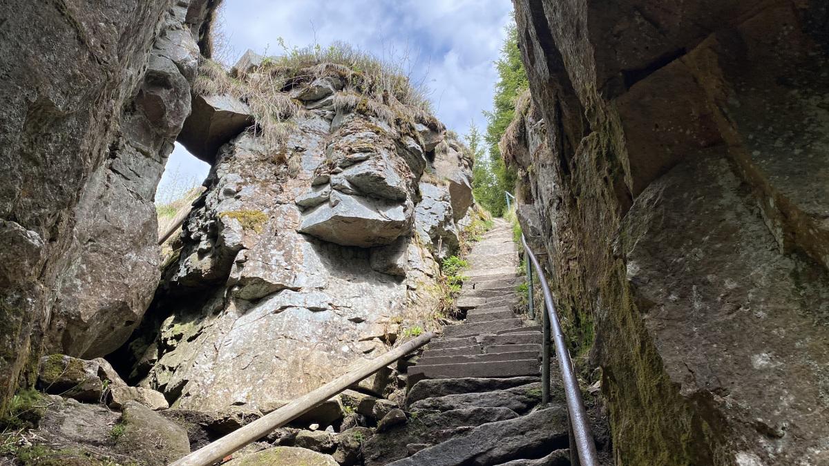 Ledová jáma schody | Krušnohorci