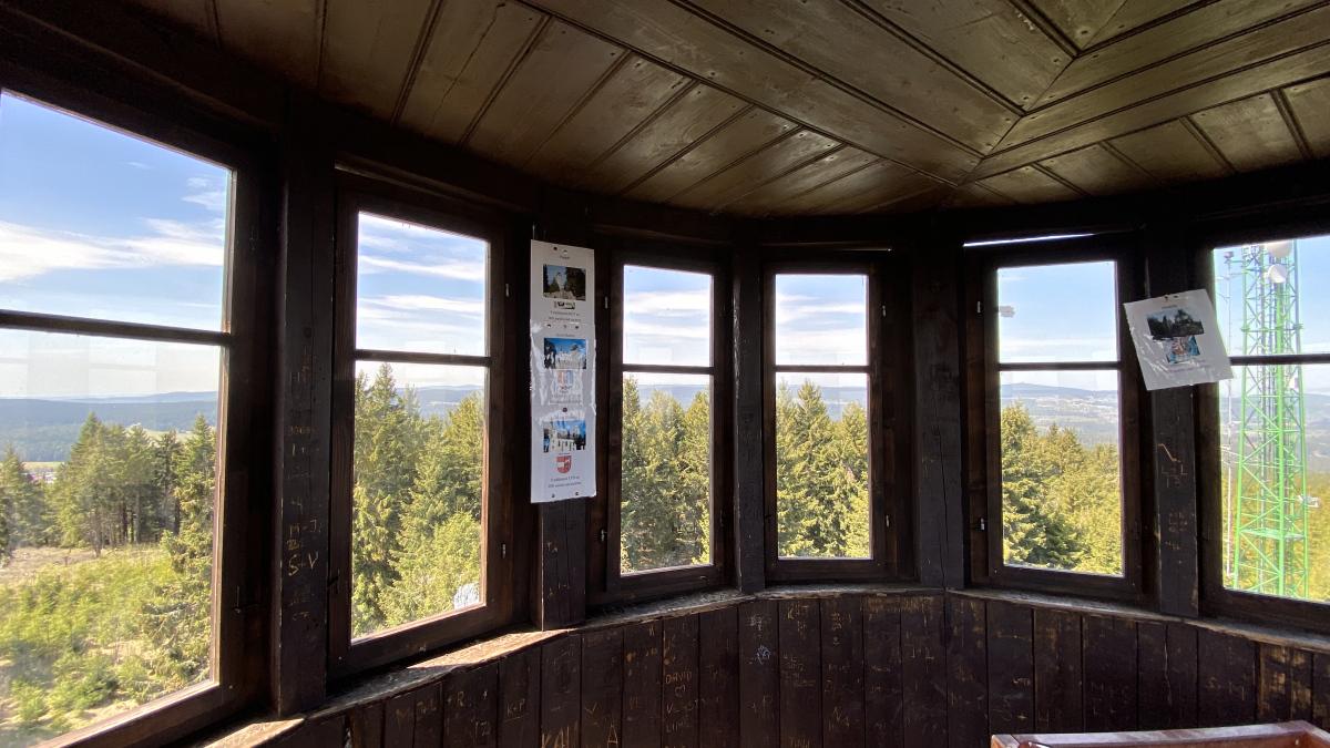 Rozhledna na Blatenském vrchu | Krušnohorci