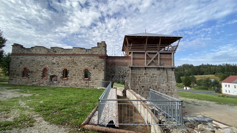 Vysoká pec v Šindelové | Krušnohorci